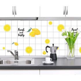 "Sticker on the tile ""Mr. lemon"" 60cm x 3M"