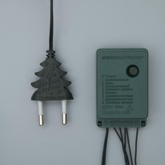 НИТЬ, 9 м, Н.Т. 240 ламп, 220V, 8 режимов, МУЛЬТИ