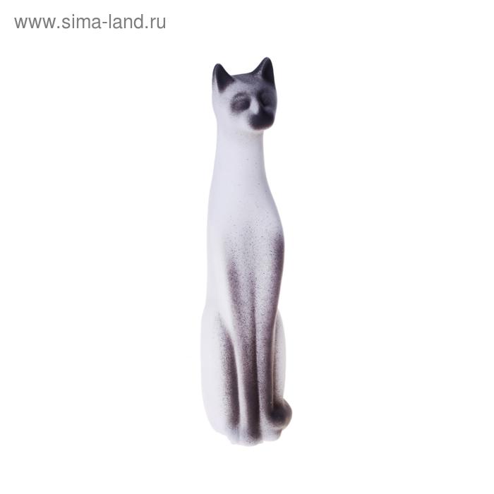 """Сувенир """"Кот Египетский"""" средний, подпал серый, микс"""