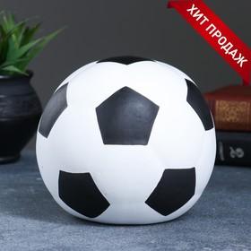 """Копилка """"Мяч"""" белый 15х15х15см 053"""