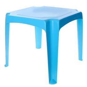Детский стол, цвет голубой Ош