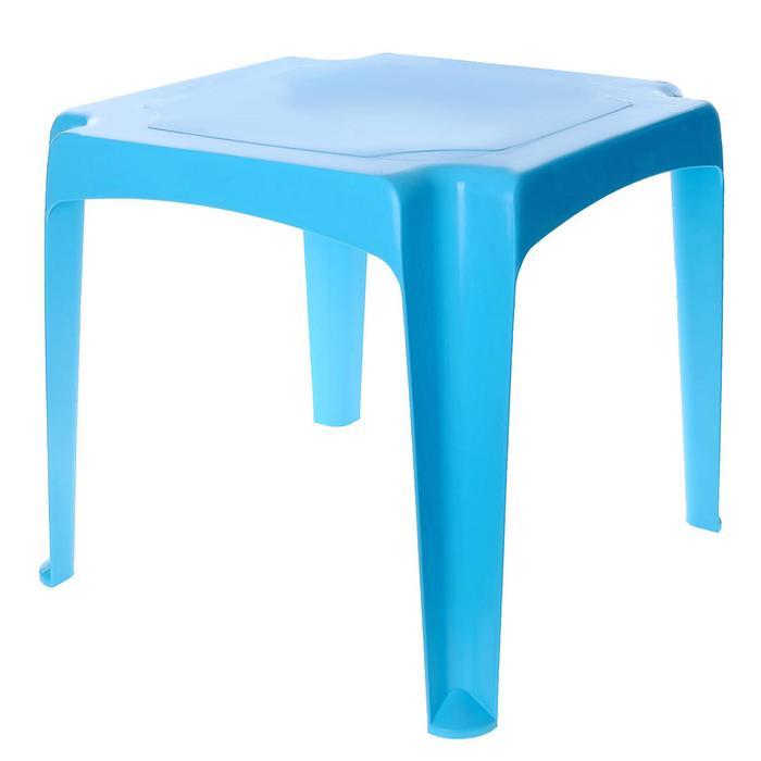Детский стол, цвет голубой