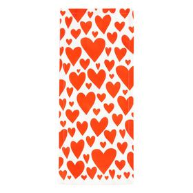 """Дорожка на стол """"Этель"""" Red hearts 30х70см, 100% хл, саржа 190 г/м2"""