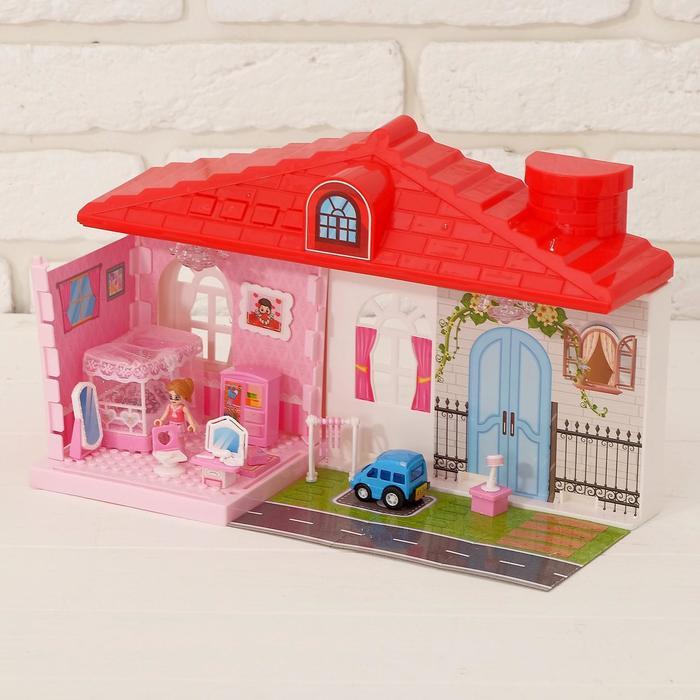 Дом для кукол, с аксессуарами - фото 2069119