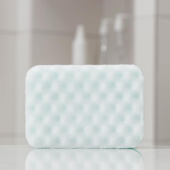 Губка банная «Афродита», 14,5×10,5×6 см, цвет МИКС
