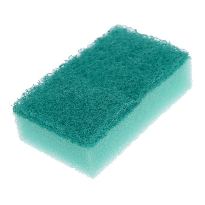 """Набор губок бытовых 7,5х2,5х4,5 см """"Мини"""" с чистящим слоем, 3 шт"""