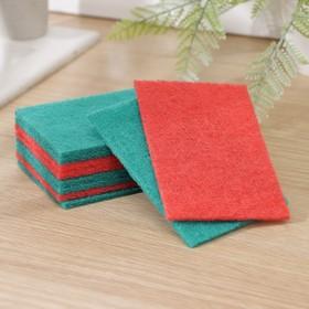 Набор губок-салфеток бытовых PRIDE «Эффект», 10 шт, цвет МИКС - фото 4645968