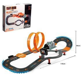 "Auto track ""supercar Racing"", with 2 cars 1: 43, backlit"