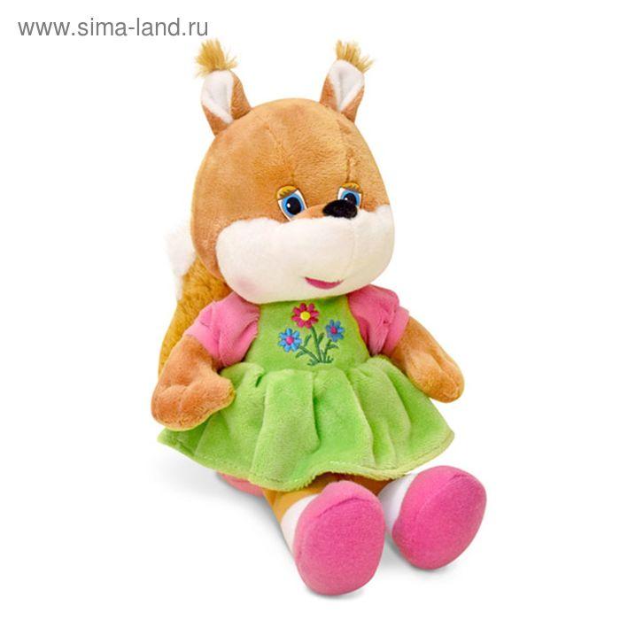 Мягкая игрушка «Белка-девочка» музыкальная