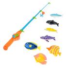 Рыбалка «Охота на рыбок»: 7 рыбок, 1 удочка - фото 105501061