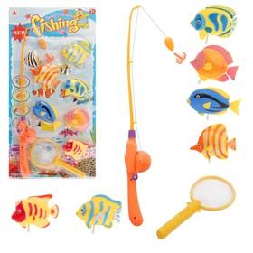 "Clockwork fishing ""red sea"", 6 fish"