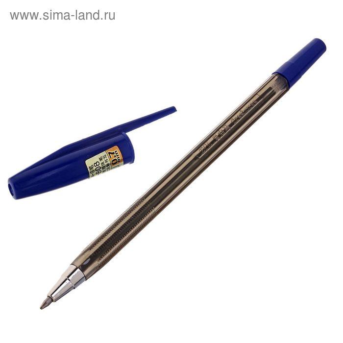 Ручка шариковая 0,7мм Ball 808 стержень синий