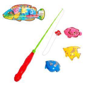 Рыбалка «Рыбка», 3 рыбки, МИКС