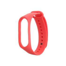 Ремешок силиконовый Krutoff, для Xiaomi Mi Band 3/Mi Band 4, красный Ош