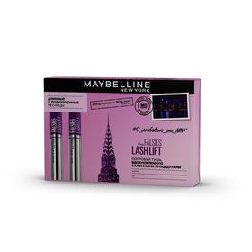 Подарочный набор Maybelline: тушь для ресниц The Falsies Lash Lift, черная, 9мл, 2шт