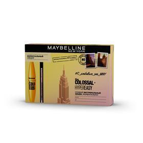 Подарочный набор Maybelline: тушь для ресниц Colossal Volum' Express и лайнер для глаз