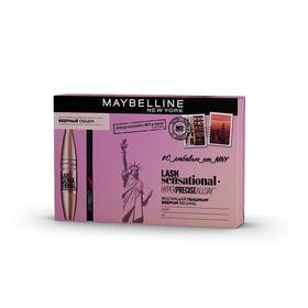 Подарочный набор Maybelline: тушь для ресниц Lash Sensational и лайнер для глаз
