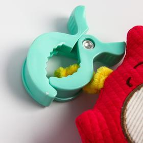 Подвеска мягкая музыкальная игрушка «Лесные друзья. Совенок»