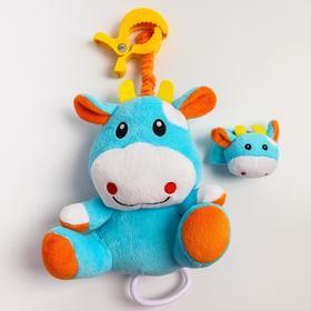 Развивающая музыкальная игрушка «Коровка», мягкая