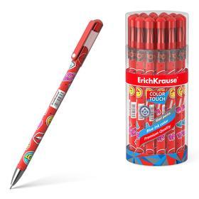 Ручка гелевая ErichKrause ColorTouch Sweet love, узел 0.38 мм, чернила синие