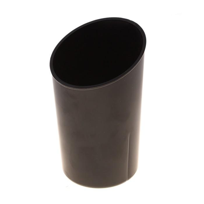 """Подставка-стакан для пишущих принадлежностей """"Дуэт"""", чёрный"""