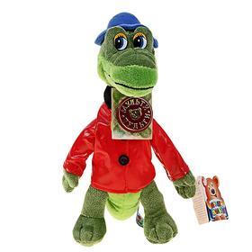 Мягкая музыкальная игрушка «Крокодил Гена», 21 см