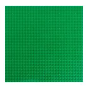 Пластина основание для конструктора «Игровое поле», 40×40×0,5 см, цвет зелёный