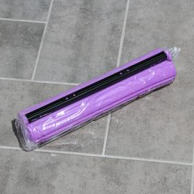 Насадка для швабры с роликовым отжимом, цвет МИКС