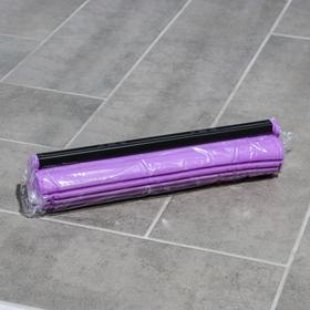 Насадка для швабры PVA с роликовым отжимом, 27×6,5×5,5 см, цвет МИКС - фото 1709476