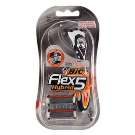 Набор BIC 5 FLEX  HYBRID  Бритва + 2 кассеты с 5 лезвиями