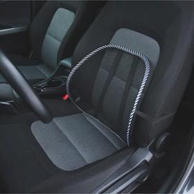 Orthopedic back cushion seat
