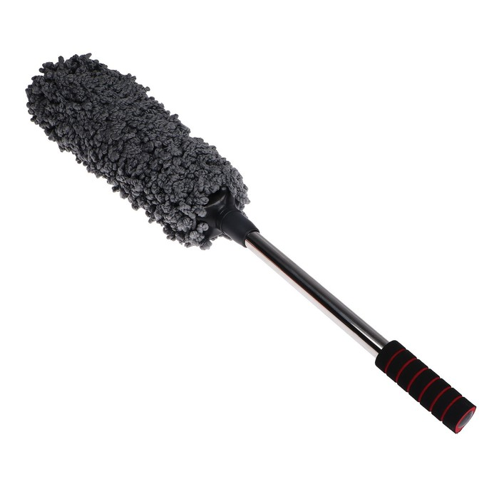 Щётка для удаления пыли TORSO из микрофибры, телескопическая 54-78 см