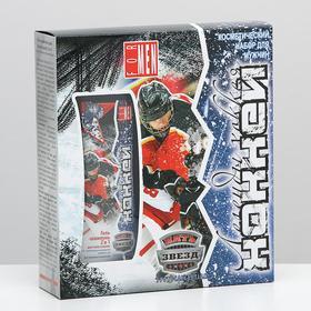 Косметический набор Хоккей-3 гель шампунь 250 мл + гель для бритья 90 мл