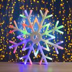 "Фигура ""Снежинка"" d-40 см, 30 LED, 220V, контрол. 8р. МУЛЬТИ"