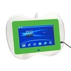 Цифровая фоторамка SD/USB, поддержка JPEG, MP3, MP4, AVI с пультом ДУ, зеленая
