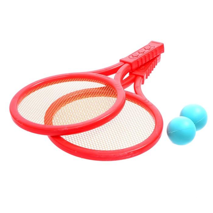 Набор ракеток: 2 ракетки, 2 мяча, МИКС