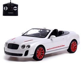 Машина радиоуправляемая Bentley Continental Roadster, 1:14, работает от аккумулятора
