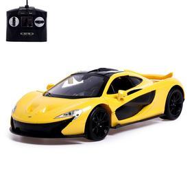 Машина радиоуправляемая McLaren P1, 1:14, открываются двери, работает от аккумулятора, МИКС