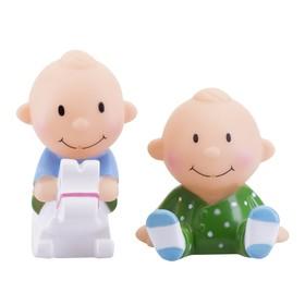 Набор игрушек-брызгалок для ванны «Весёлая игра», 2 шт.