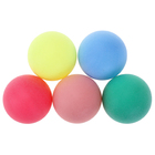 The ball for table tennis of 40 mm MIX color