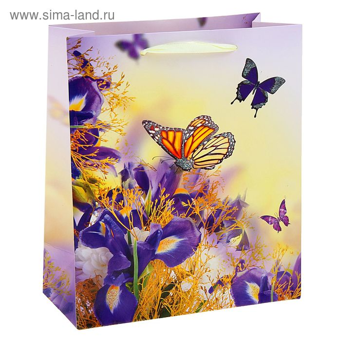 """Пакет ламинированный """"Бабочки"""""""