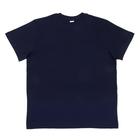 футболка мужская темно-синяя 145-155гр. 100% х/б p-p L