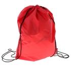 Рюкзак-мешок для обуви, шнурок, цвет красный