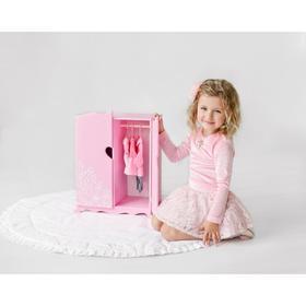 """Игрушка детская: шкаф с дизайнерским цветочным принтом (коллекция """"Diamond princess"""" розовый"""