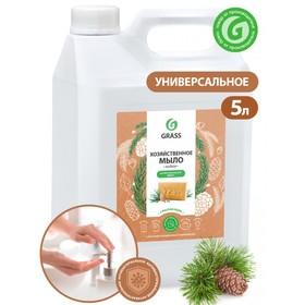Мыло жидкое хозяйственное с маслом кедра, 5л