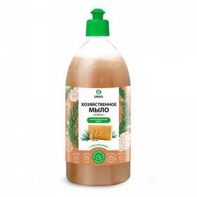 Мыло жидкое хозяйственное с маслом кедра, 1л
