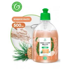 Мыло жидкое хозяйственное с маслом кедра, 0,5л