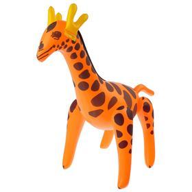 Игрушка надувная «Жираф», 55 см, цвета МИКС