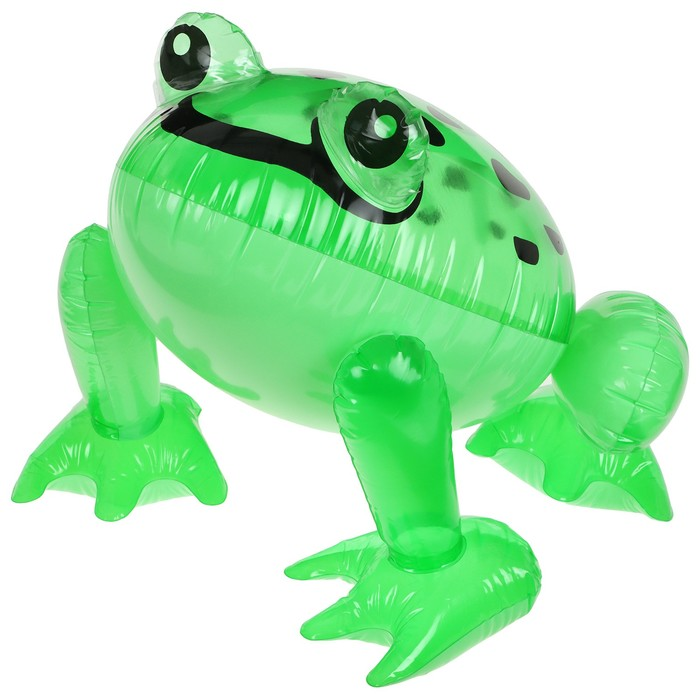Игрушка надувная «Лягушка», 30 см