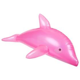 Игрушка надувная «Дельфин», 55 см, цвета МИКС